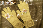 Bijoux Beaded Gloves Pattern Page